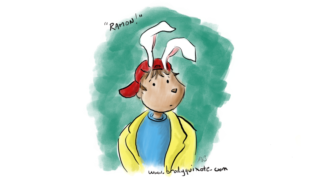 An illustration of Ramon from the Little Tickles gang by brodyquixote